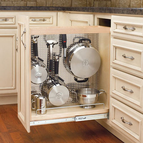 kitchen pots and pans organizer