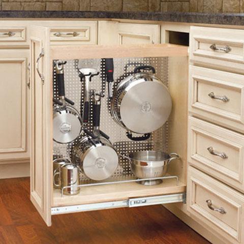 kitchen pots and pans organizer