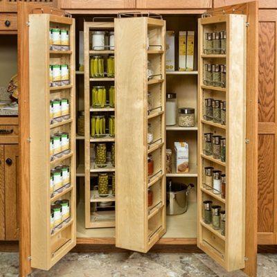custom pantry cabinet